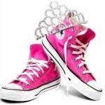 Los zapatos de niña que brillan