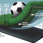 Pasto sintético para fútbol 7
