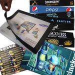 Los tapetes publicitarios apoyarán sus campañas de marketing.