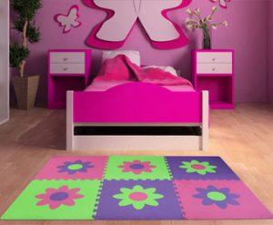 piso didactico para niños