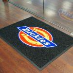 Logo floor mats